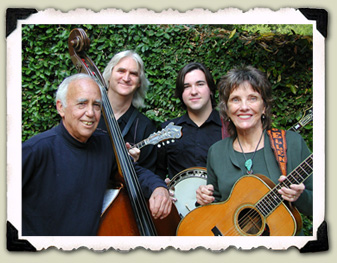 Left to right: Bill Bryson, George Doering, Patrick Sauber, Jo Ellen Doering