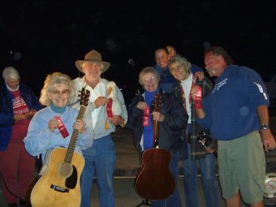 Band Scramble Winners!