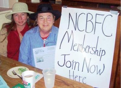 Diane Hosts Membership Drive